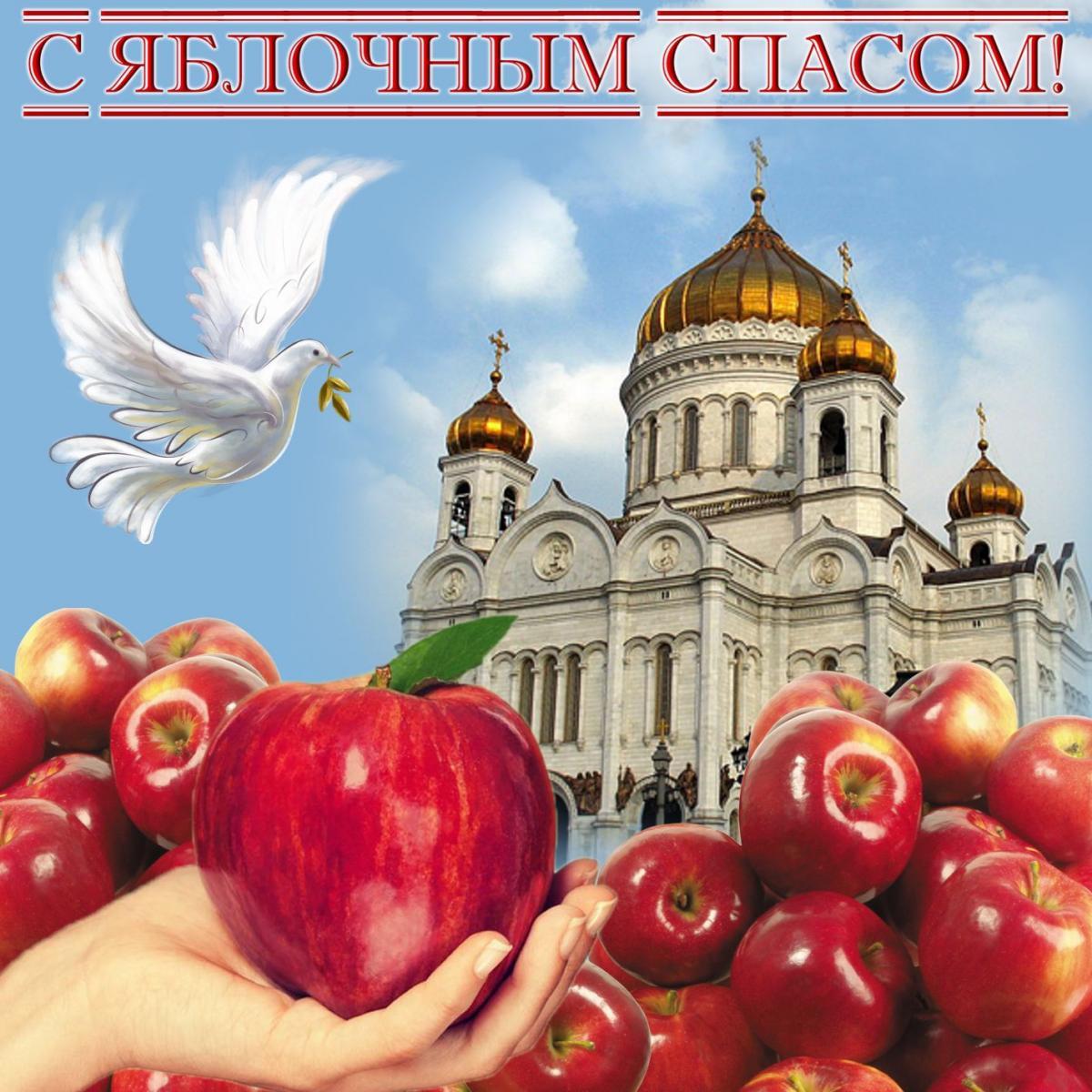 красивые картинки с яблочным спасом представляет собой совмещение