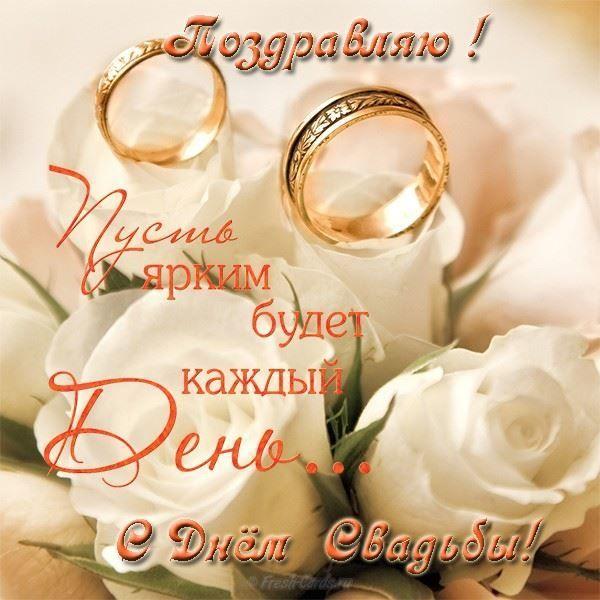 Как отправить поздравление с днем свадьбы жене